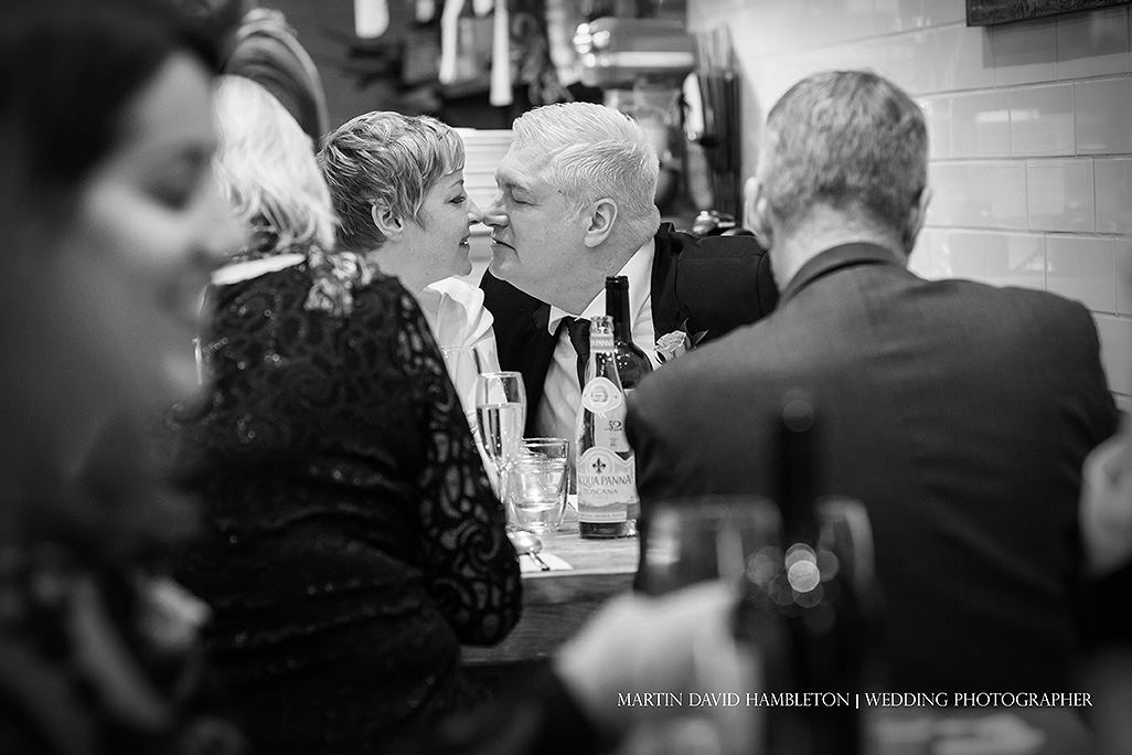 candid wedding photography at sugo restaurant hale